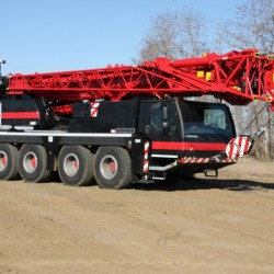 All Terrain Crane Orientation